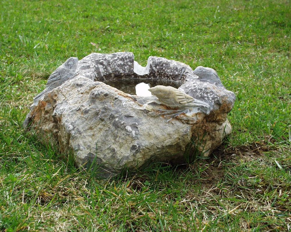Vogeltränken » Natursteine Hirneise