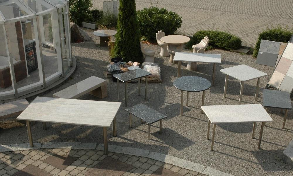 Tische natursteine hirneise for Angebote tische