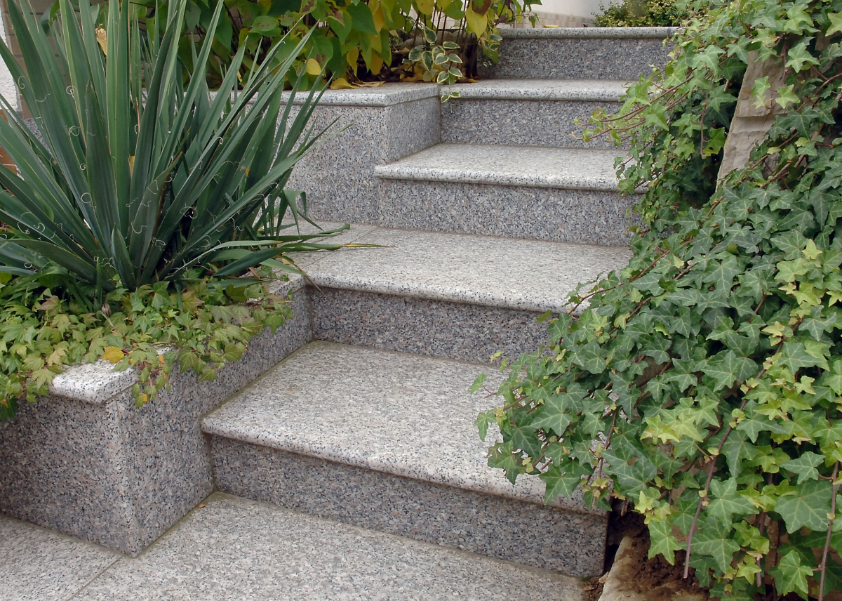 treppe stein